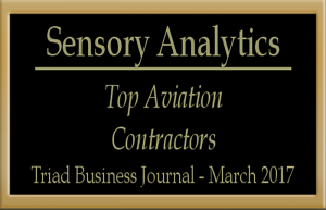 Sensory Analytics on Top Aviation List